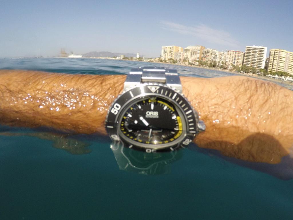 Impresiones  de uso del Oris depth gauge C310b810