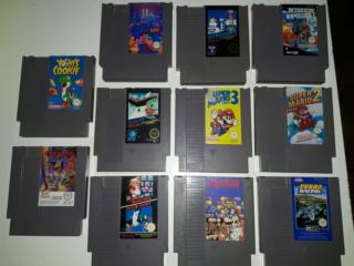 Estim jeux NES looses & boites 20180911