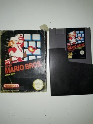 Estim jeux NES looses & boites 20180918
