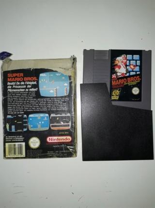 Estim jeux NES looses & boites 20180919