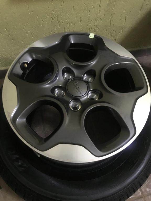 Vendo Roda e pneus 16 liga leve, novos 07815f10