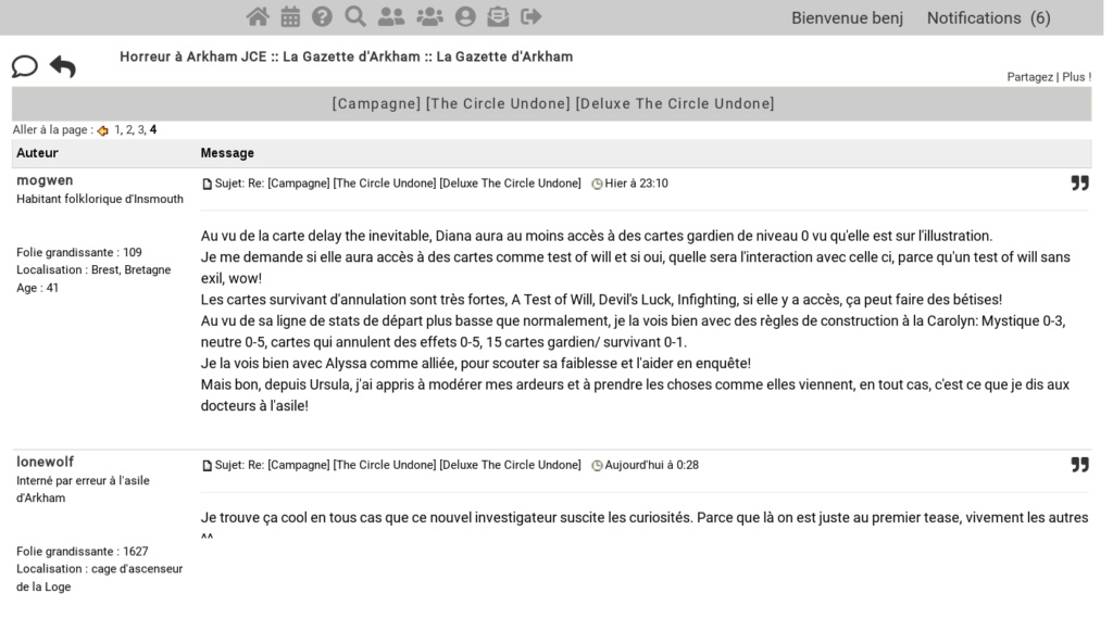 Une feuille de style CSS alternative SFW pour le forum Screen10