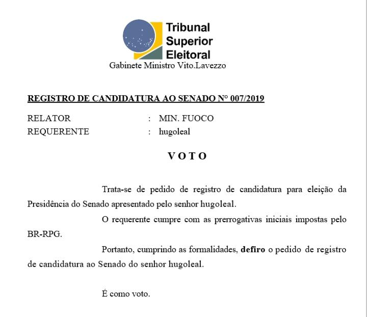 [REQ] Reg.Cand.senado n°007/2019 20190328