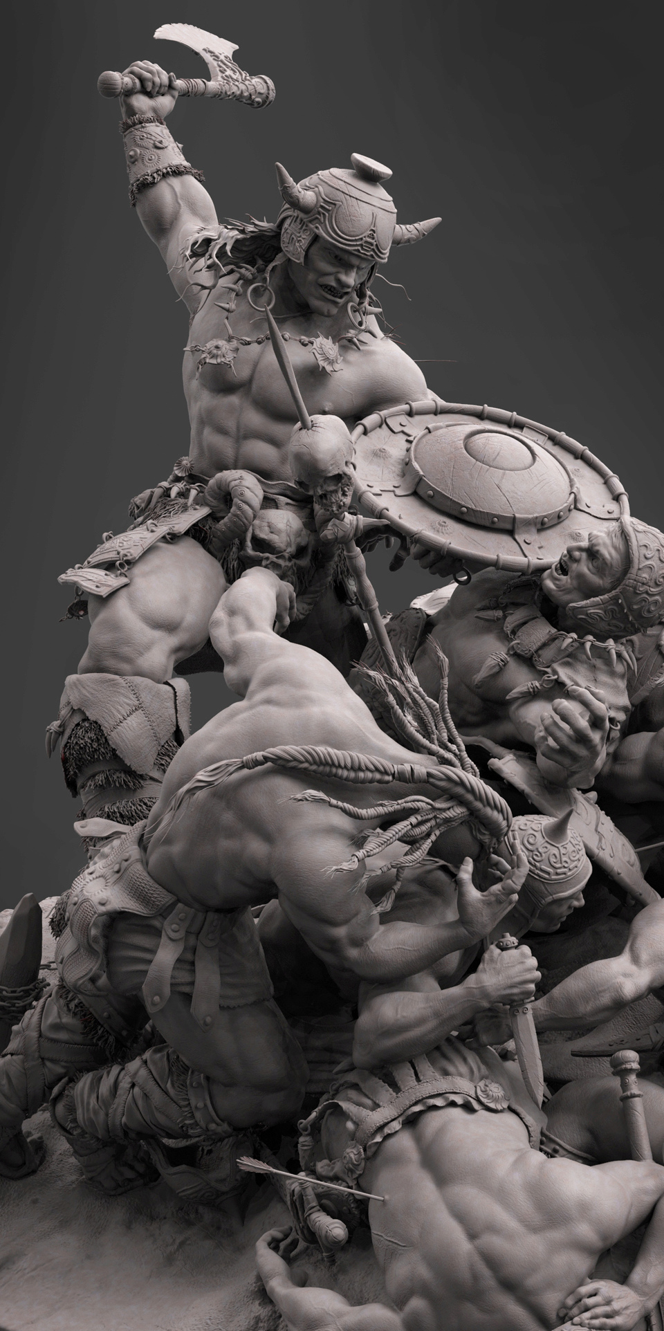 Diorama Conan the destroyer 1110