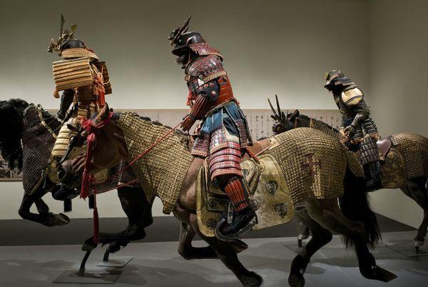 Samouraï à cheval Armure12