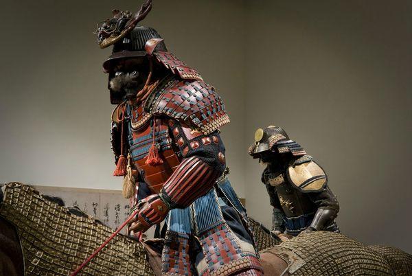 Samouraï à cheval Armure13