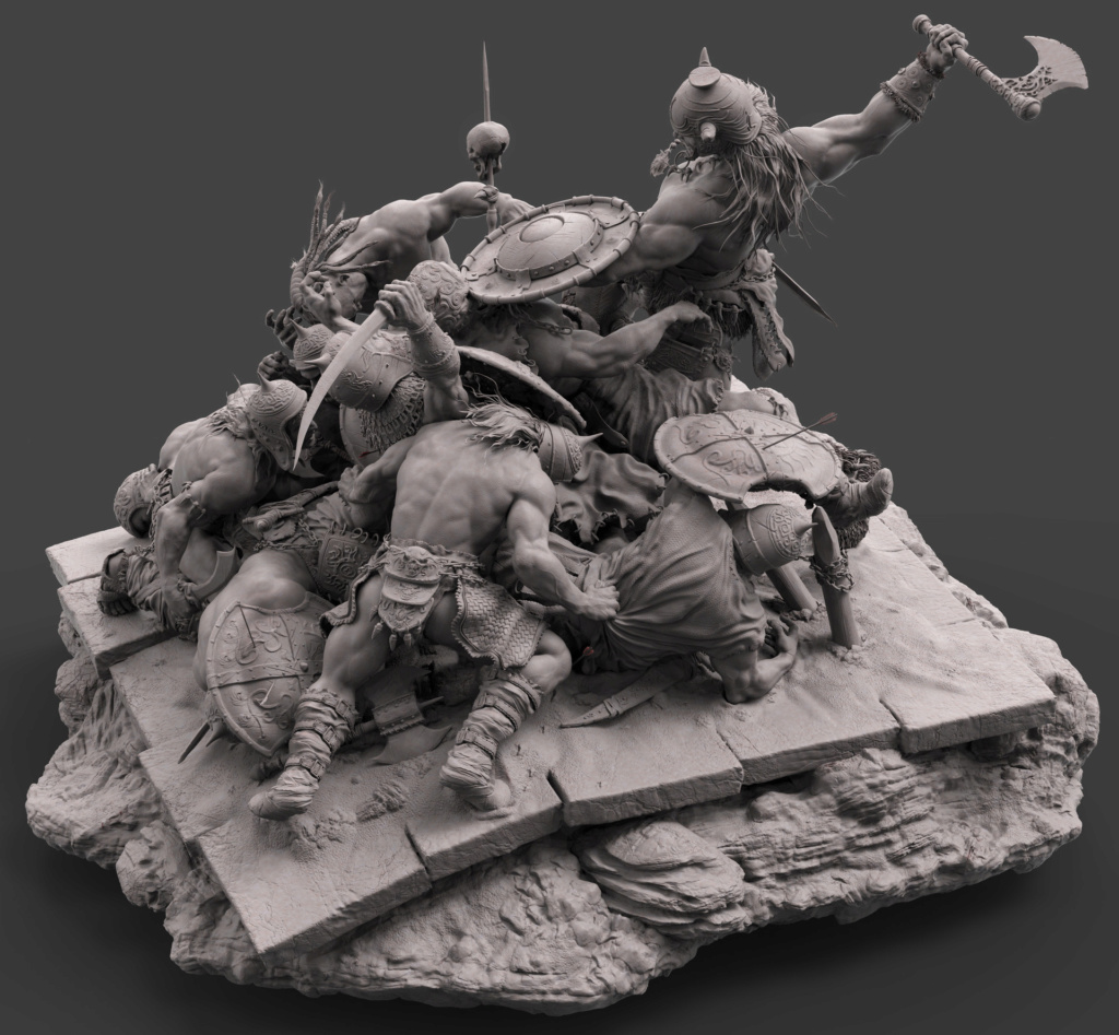 Diorama Conan the destroyer Conan_10
