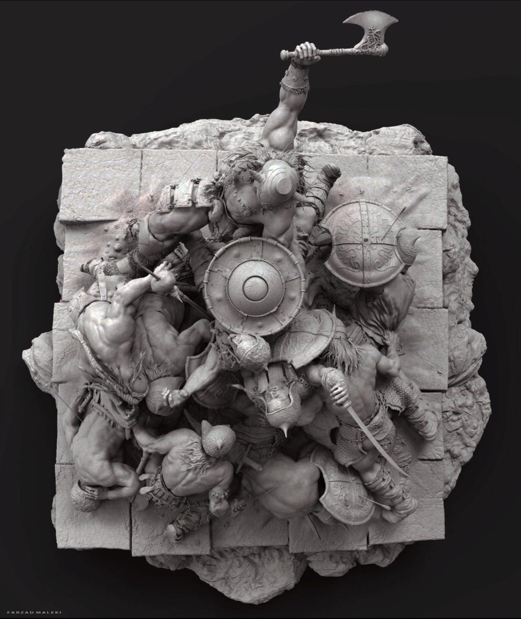 Diorama Conan the destroyer Conan_16