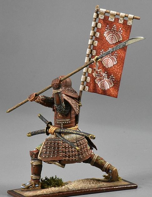 Samouraï à cheval Modzol16
