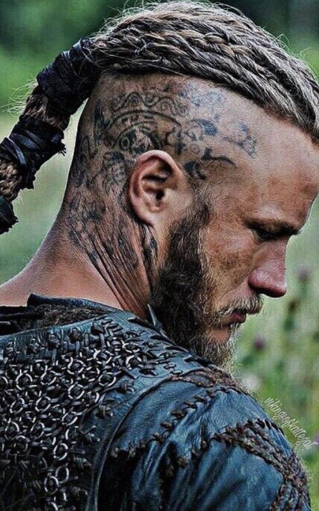 Buste viking  Ragnar10