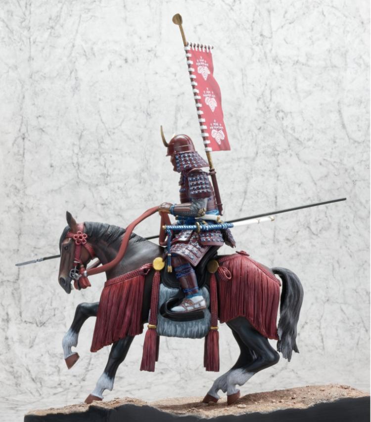 Samouraï à cheval Samour13