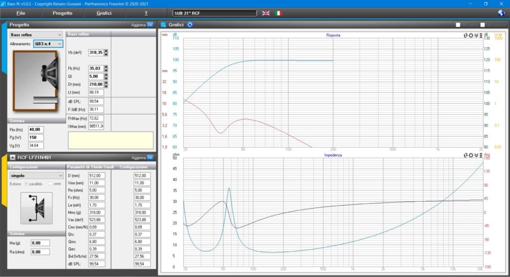 Battaglia tra diffusori con woofer enorme (Cerwin Vega SL-15/XLS-215  vs Magnat Transpuls 1500) - Pagina 22 Rcf_lf10