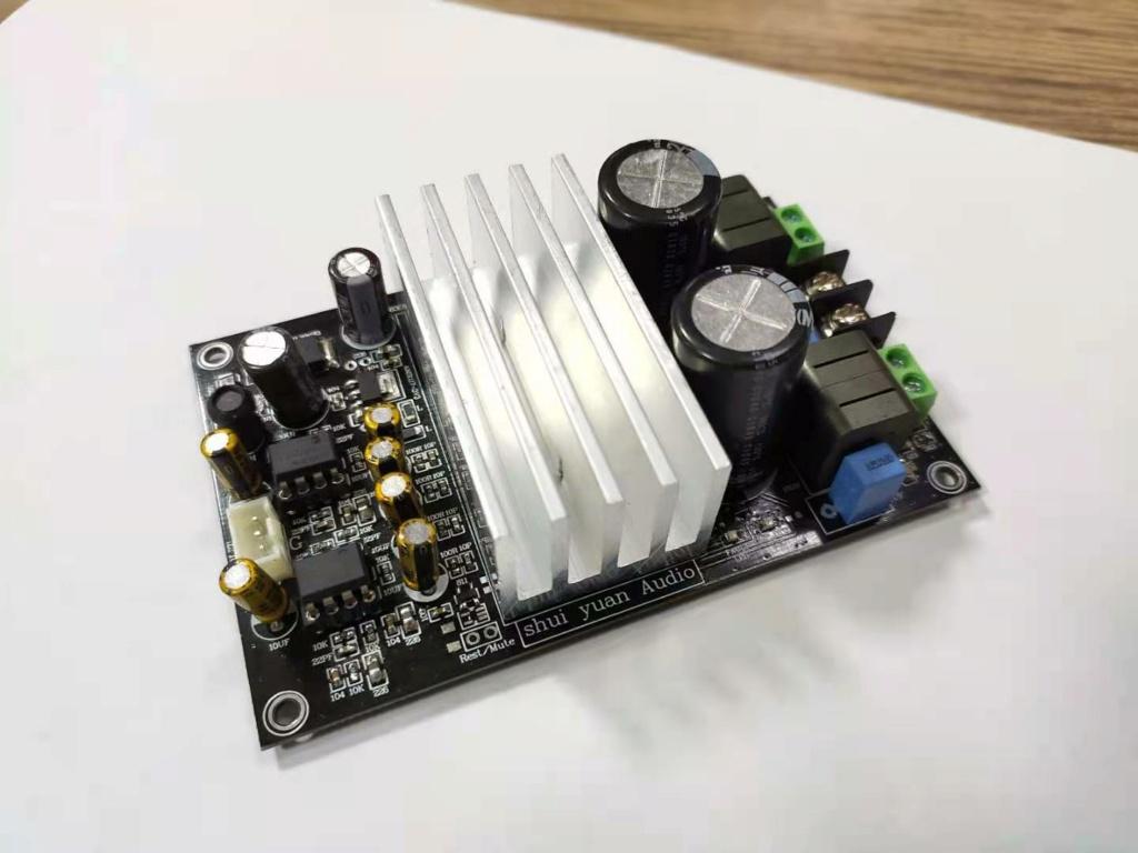 Nuova scheda TPA3255 compatta e semplice...qualcuno l'ha provata? Tpa32510