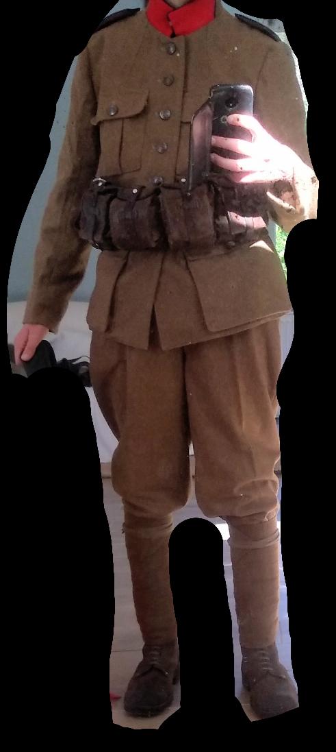 Patine d'uniformes en laine Screen25