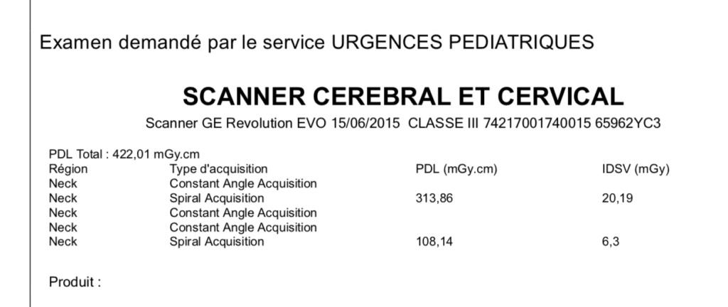 SCANNER CEREBRAL SUR BEBE 25379310