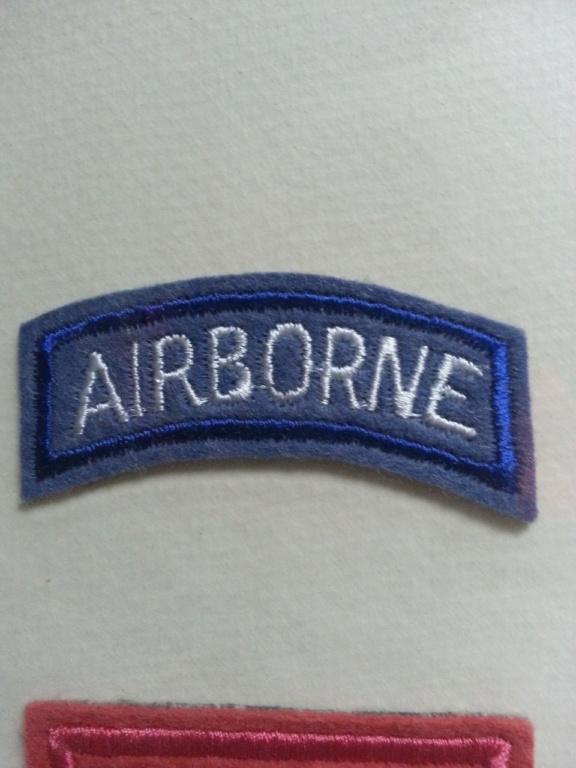 Cadre avec insignes 82 et 101 eme Airborne Thumbn17