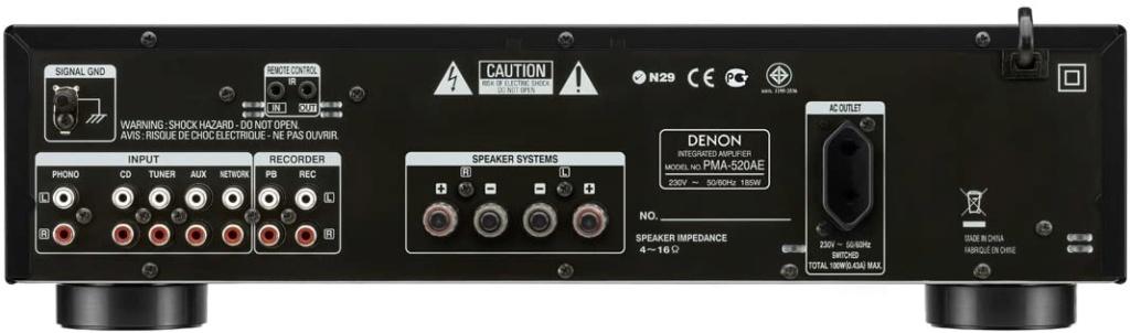 Denon PMA-520AE Integrated Amplifier (New) 517ftn10