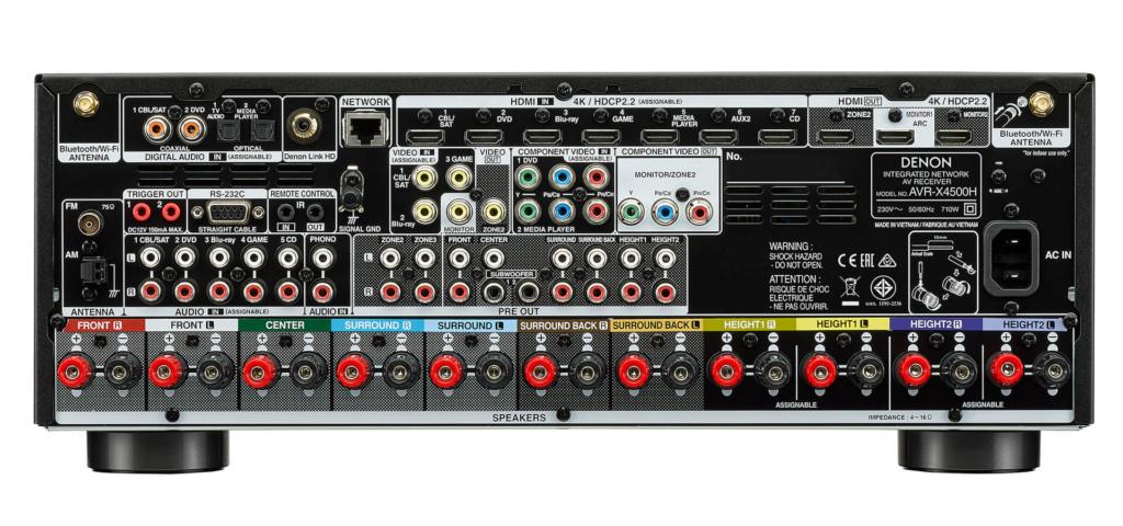 Denon AVR-X4500H (New) D_x45011