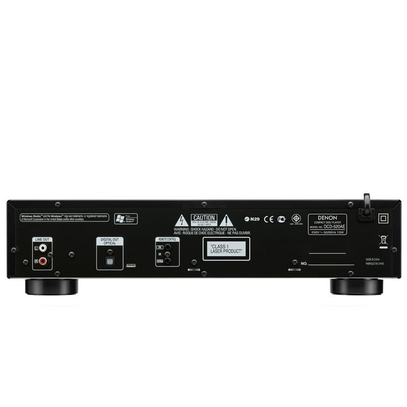 Denon DCD-520AE CD Player (New) Denon-11