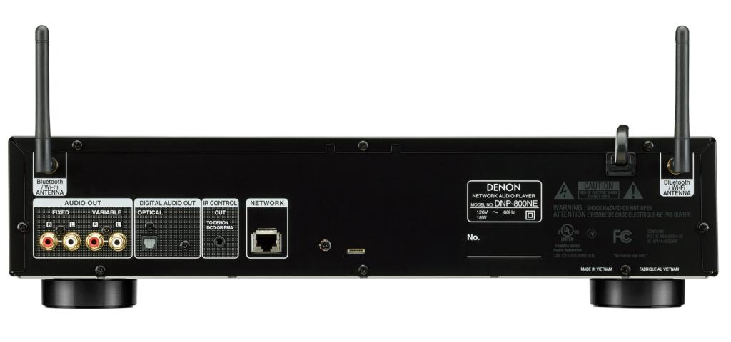 Denon DNP-800NE Network Audio Player (New) Dnp_8010