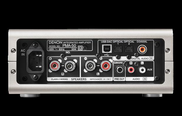 Denon PMA-50 Compact Digital Amplifier (New) El_pma17