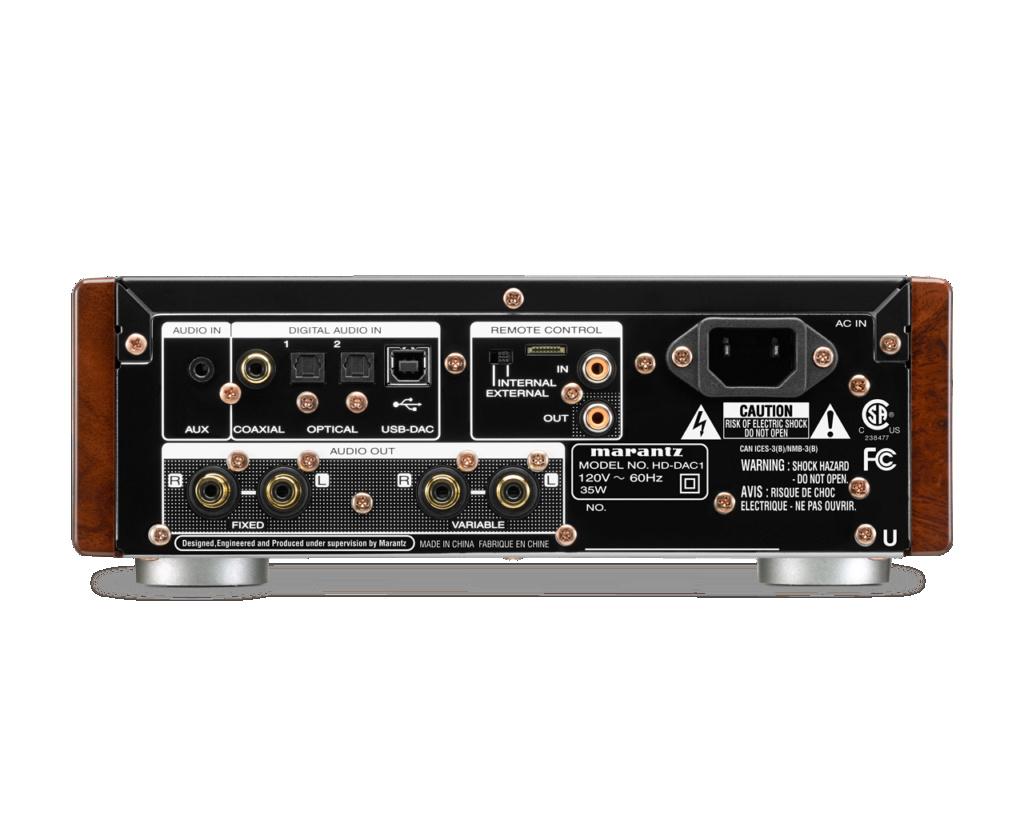 Marantz HD-DAC1 HEADPHONE AMPLIFIER WITH DAC (New) Hd-dac11