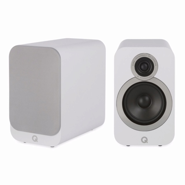 Acoustics 3020i Bookshelf Speakers (NEW) Qacous17