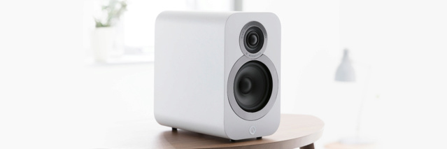 Acoustics 3020i Bookshelf Speakers (NEW) Qacous20