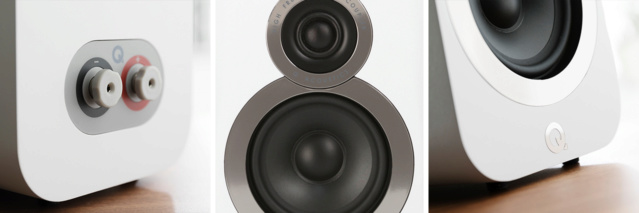 Acoustics 3020i Bookshelf Speakers (NEW) Qacous22