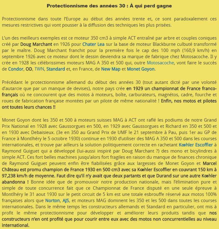 Motos Standard : le simple ACT né du protectionnisme --tyt10