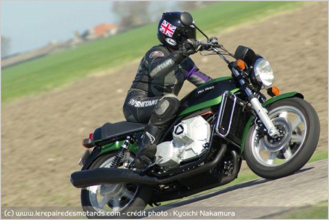 Essai moto d'exception Van Veen OCR 1000 Rotary 1210