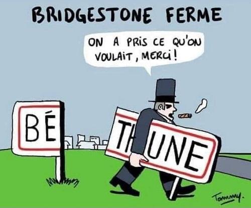 BRIDGESTONE - L'usine de Béthune va fermer - Page 2 12546810
