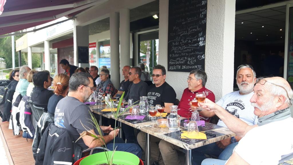 C.R. Weekend en Sud Gironde 20190917