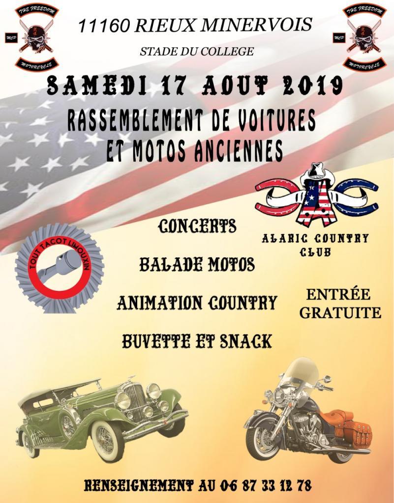 Occitanie - 17 et 18 Août - Rieux-Minervois - Fête de la moto 50384f10