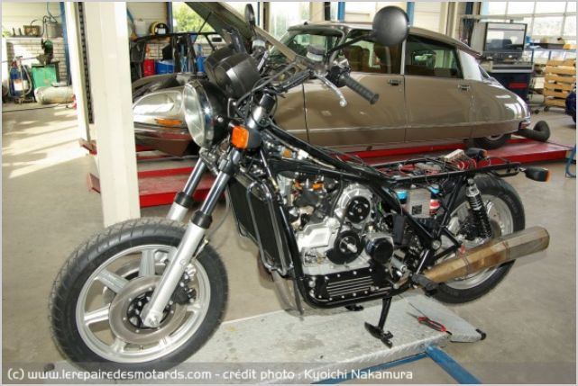 Essai moto d'exception Van Veen OCR 1000 Rotary 710