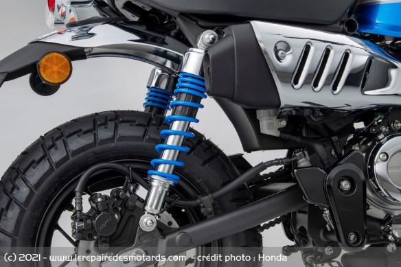 Moto Honda Monkey 2022 (+vidéo) Amorti11