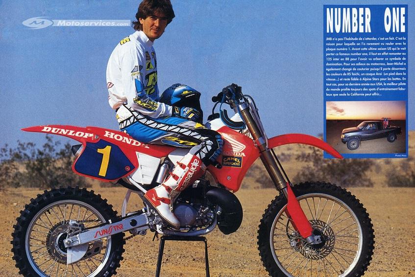 8 juin 1991, Jean Michel Bayle devient champion des USA de Supercross ! Bayle_10