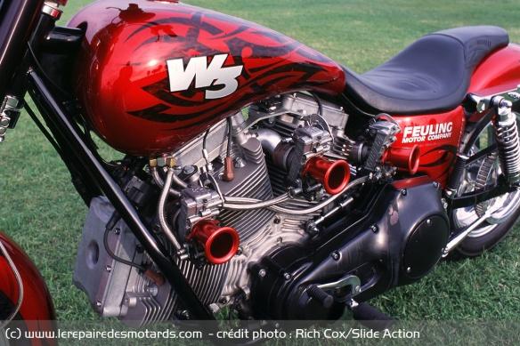 Essai moto Feuling W3 Carbur10