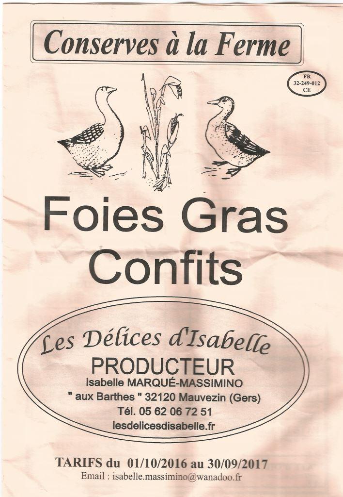 Occitanie -Sortie foie gras Isabelle 2019 D-isab12