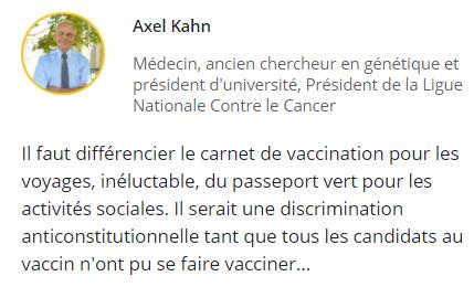 Pour ou contre le passeport vaccinal pour aller au resto ou voyager Ddde10