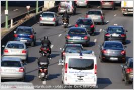 L'interfile à moto, c'est à nouveau interdit Edfred11