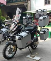 Equipement et bagagerie moto (Trail de baroudeur) Equipe10