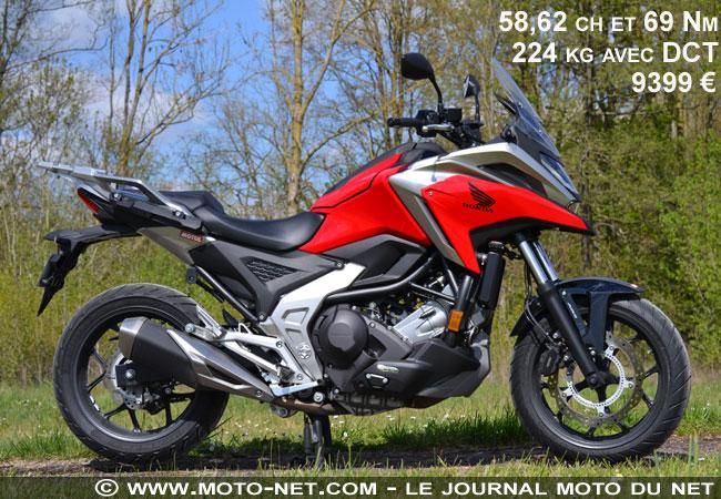 Essai longue distance Honda NC750X 2021 Essai-11