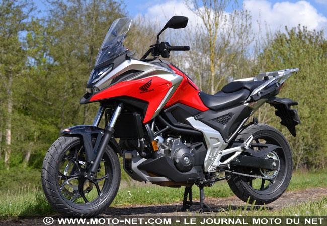 Essai longue distance Honda NC750X 2021 Essai-12