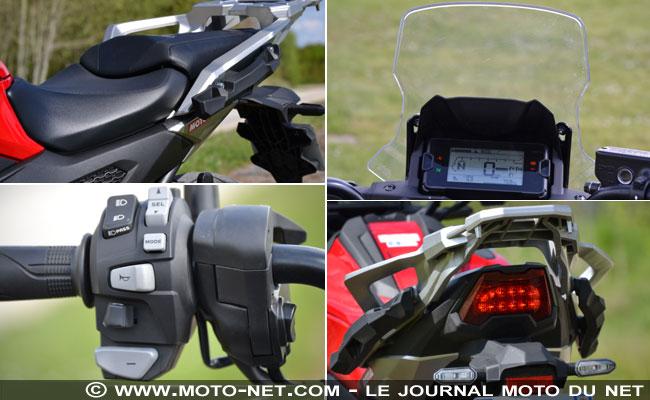 Essai longue distance Honda NC750X 2021 Essai-13