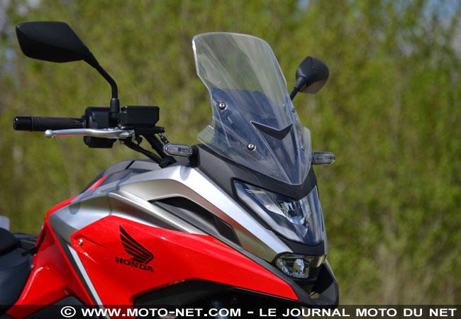 Essai longue distance Honda NC750X 2021 Essai-14