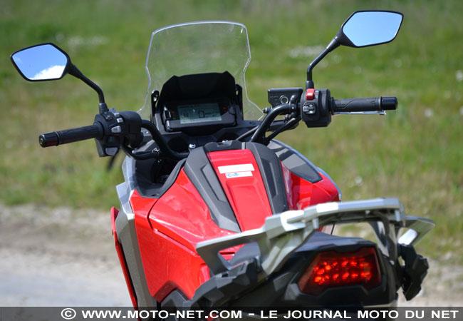 Essai longue distance Honda NC750X 2021 Essai-15