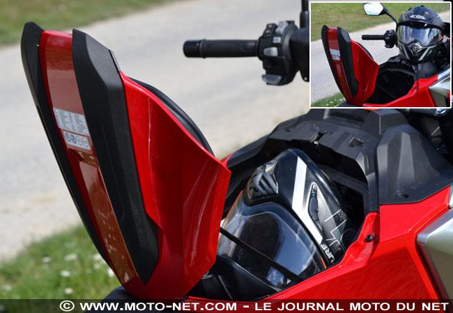 Essai longue distance Honda NC750X 2021 Essai-16