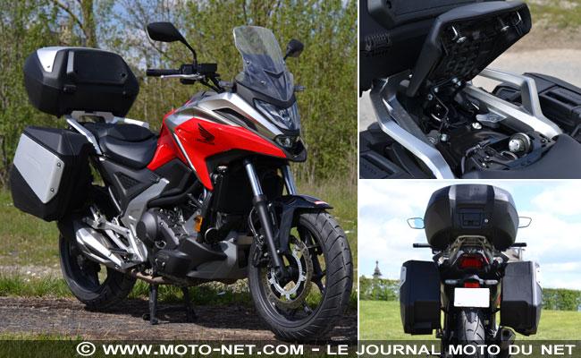 Essai longue distance Honda NC750X 2021 Essai-17