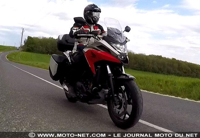 Essai longue distance Honda NC750X 2021 Essai-19